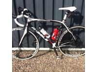 Ribble Carbon road bike full ultegra group set mavic wheels 55cm frame