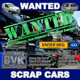 All Scrap Vehicles Collected Seaford & Throughout Sussex [Cars, Vans & 4x4s] Cash Waiting