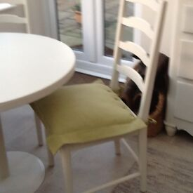 Bistro Table and Chairs .