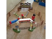 Play mobile horse stadium