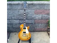 EPIPHONE LES PAUL KOREAN MADE WITH EPIPHONE HARD CASE £300.