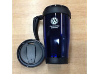 BLUE THERMO MUG FROM THE COMMERCIAL VEHICLES RANGE