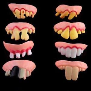 how to make false teeth at home