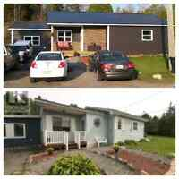 Steel roofing and exterior work