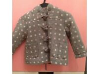 Next girls coat (12-18 months)