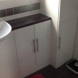 Bathroom items &shower cubicle