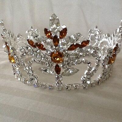 Austrian Crystals Full Round Crown 4