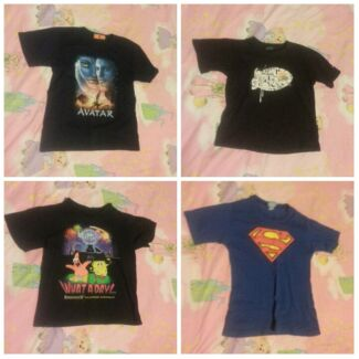 4x Size 8 Boys T-Shirts Doonside Blacktown Area Preview