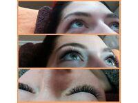 VOLUME eye lash extensions