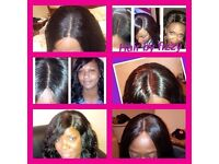 SPECIAL OFFER ON BRAZILIAN WEAVE/AFRO/EUROPEAN/CARIBBEAN /MOBILE HAIRDRESSER !!!