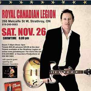 Jack De Keyzer live at strathroy legion Nov 26 London Ontario image 1