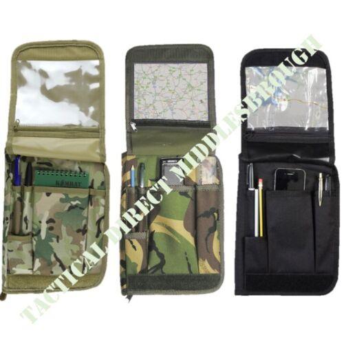 ARMY A5 FOLDER NOTEBOOK HOLDER MTP COMMANDERS ORDERS BOOK FOLDER MAP CASE CADET