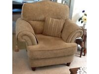 Two Arm Chairs. Two years old. Excellent condition. £150 ono
