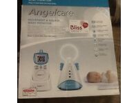 Barely used immaculate Angelcare movement and sound monitor.