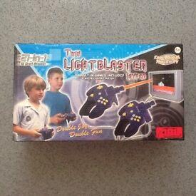 Twin LIGHTBLASTER Joypad - 21 Built in games £15 VGC