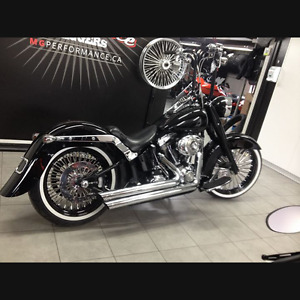2007 HARLEY DAVIDSON SOFTAIL FXST-Price for quick sale