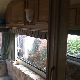 Touring caravan lightweight with mover
