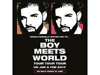 Drake Seated Ticket - 8th Feb £100