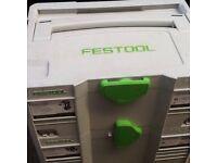 festool c18 Li 5,2 plus used