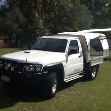 2007 Nissan patrol 4x4 tray back ute Veresdale Ipswich South Preview