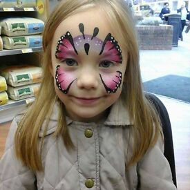 ABC Face paints and glitter tattoos