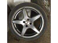 "Mazda MX5 Eunos Dezent 17"" Alloy Wheels"