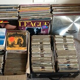 "Vinyl Record collection for sale 2500 + 7"" 12"" LPs etc"