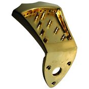 Gold Mandolin Tailpiece