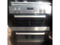 Oven grill and hob integrated Lamona cooker