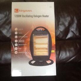 Halagen heater 1200w oscillating
