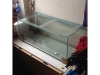 3ft fish tank for sale southside Glasgow, collection only.