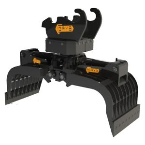 Excavator Attachments Grapples- Canadian Made