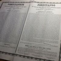 1847 - Ferdinando Re Delle Due Sicilie E Di Gerusalemme Infante Delle Spagne -  - ebay.it