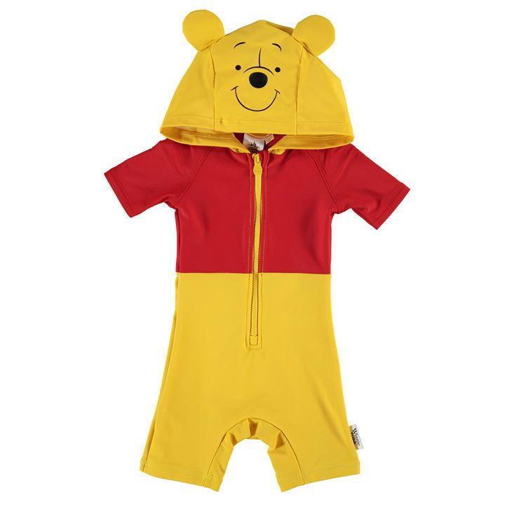 England Disney Baby ** Winnie Pooh**Schwimmanzug Kapuze Badeanzug  Gr. 86/92
