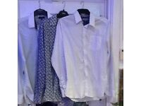 3 Ted Baker shirts as new, hardly worn,size medium,only 15the 3,pos local delivery