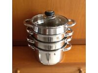 3 TIER STEAMER/SAUCEPAN