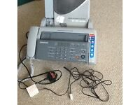 Samsung SF-360 series inkjet telephone fax machine