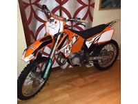 KTM SX125 2005 Tyla Rattray