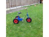 Childs disability bike