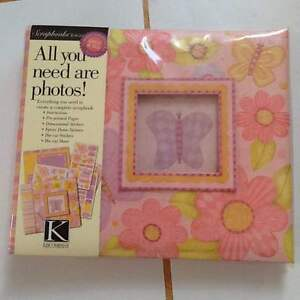 Lovely scrapbook with the embellishments for you