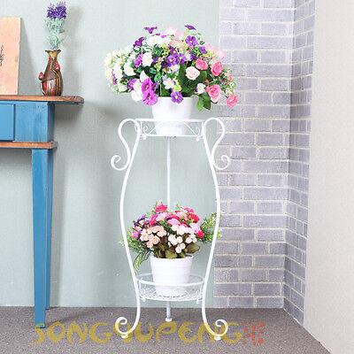 Blumenständer Blumenregal Blumenhocker Blumentreppe Pflanzentreppe Garten Metall