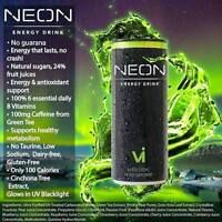 TOP SHELF NEON ALL NATURAL ENERGY DRINK