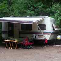 19 ft Dual axle travel trailer