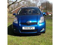2010 (10) Toyota Yaris 1.4 D-4D TR Diesel, 5DR, £20 Road Tax, 6 Speed