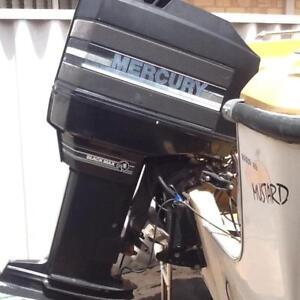 "Mercury 175 Black Max XL 25"" leg."
