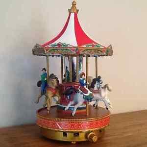 Magnifique Caroussel Victorian musical et animé