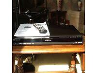 Panasonic dvd recorder model Dmr-ex77eb 160GB