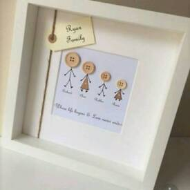 Made to order box frames