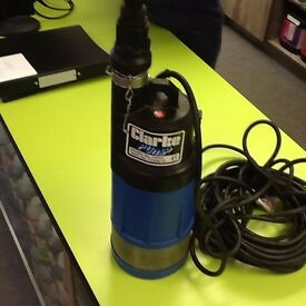 HYDROPONIC / POND CLARKE CSD3 SUBMERSIBLE WATER PUMP - VERY POWERFUL - USED