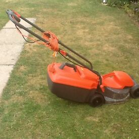 Compact Electric Flymo Lawnmower